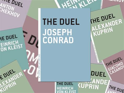 the challenge duel the of the novella challenge 49 the duel conrad