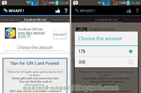 cara membuat facebook gift card cara gratis mendapat facebook credit gift card terbaru