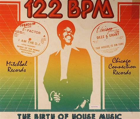 bpm house music jerome derradji various 122 bpm the birth of house music vinyl at juno records