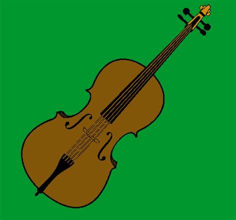 imagenes a lapiz de violines dibujo de viol 237 n pintado por chelo en dibujos net el d 237 a