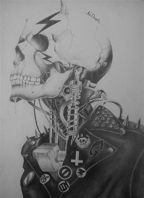 biomechanical tattoo artists ta biomechanical skull by mrshartung on deviantart