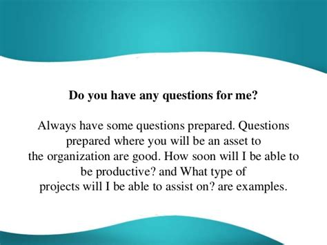 Do You Any Questions For Me Mba by Any Questions For Me Driverlayer Search Engine
