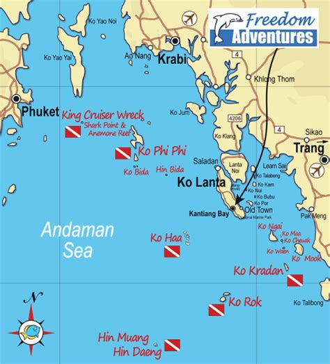 map of islands and surrounding area contact us freedom adventures