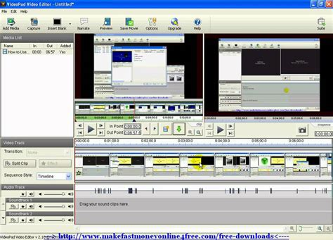 tutorial a videopad how to use videopad video editor editing split up your