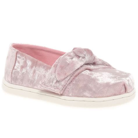 toms toddler shoes toms alpagarta bow toddler canvas shoes charles