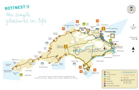 map of island and australia rottnest island reviews tours map