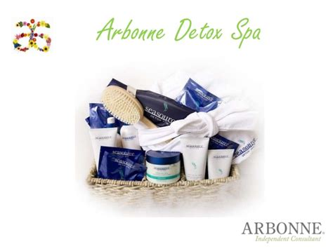 Arbonne Detox Spa Presentation by Presentation