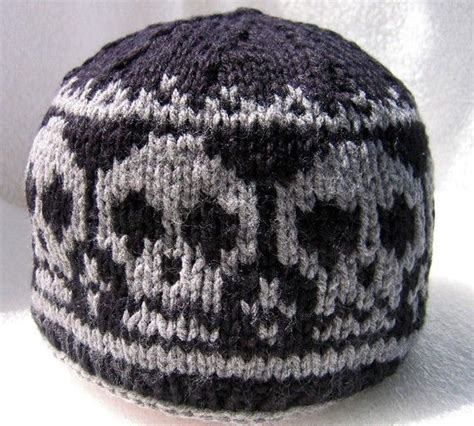 knitted skull hat pattern 17 best images about skull patterns for knitting on