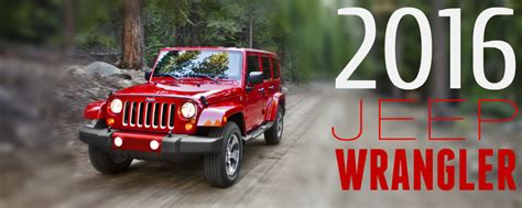 jeep wrangler model year changes new features on the 2016 jeep wrangler
