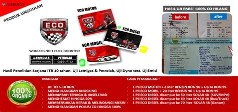 Eco Racing Bensin Diesel eco racing penghemat bbm