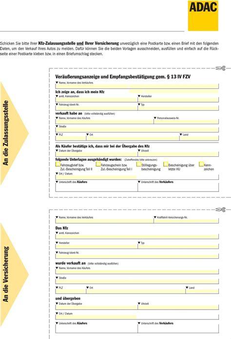 Adac Kaufvertrag Unternehmer An Privat by Verkauf Unternehmer An Privatperson Adac Kaufvertrag F 252 R