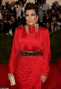 kris jenner back of hair now that s power dressing kris jenner revisits the
