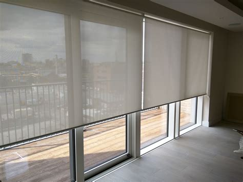Sunscreen Roller Blinds Floor To Ceiling Windows Rolling Shades For Sliding Glass Doors