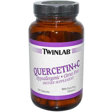 supplement quercetin twinlab quercetin c 100 capsules iherb