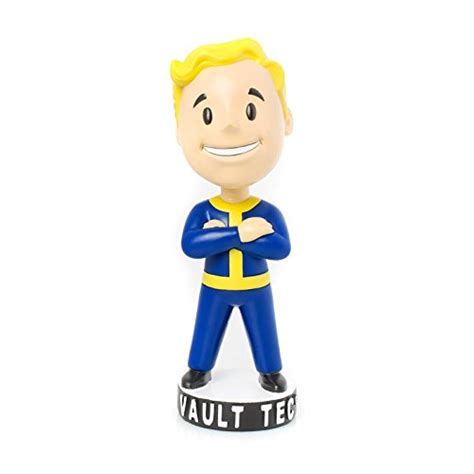 bobblehead vault 87 fallout 3 vault tec pip boy thumbs up arms crossed