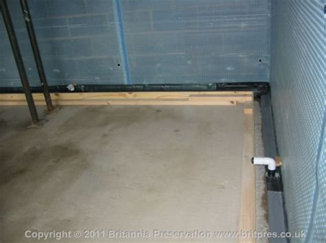 garage water ingress britannia presevation