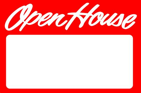 where to buy open house signs open house sign red blank ready signs