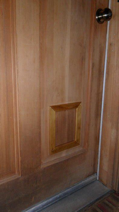 custom cat door  ray friddle  lumberjockscom woodworking community