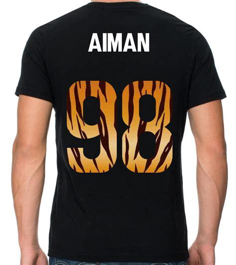 design baju nombor blog design terkini t shirt printing murah selangor