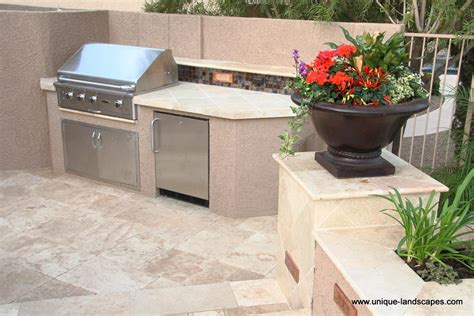Kitchen Backsplash Stainless Steel Outdoor Kitchens Amp Bbq Photo Gallery