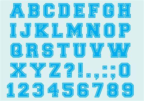 typography vector font type vectors free vector