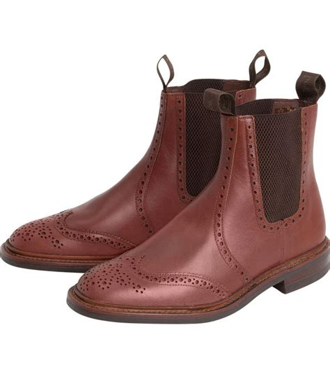 Handmade Mens Boots Uk - loake thirsk brogue dealer by loake shoemakers handmade