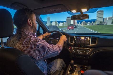 drive simulator driving simulator trip laboratory