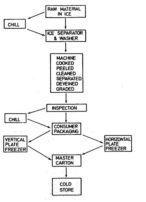flowchart layout planning and engineering data 3 fish freezing 6