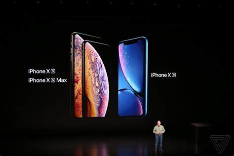 iphone xs iphone xs max kai iphone xr anakoinwohkan kai exoyme oles tis leptomereies