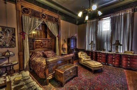 Rustic Bedroom Sets King - copper king s master bedroom butte montana photograph by daniel hagerman