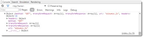 ui layout callback error angularjs and promises with the http service rick