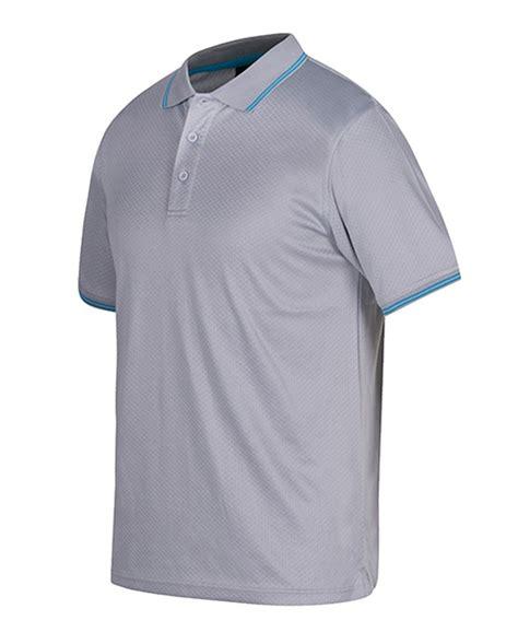 design a uniform shirt jacquard contrast polo ready for the nineteenth hole