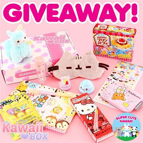 Kawaii Giveaway - kawaii box review giveaway closed super cute kawaii