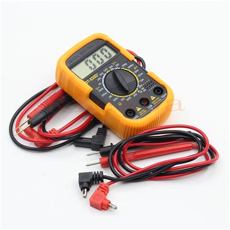 Multimeter Mini dt830d mini portable digital multimeter multimeter small