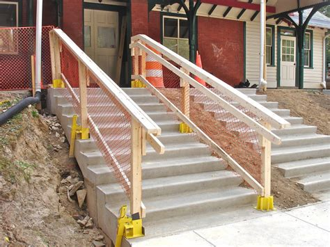 Temporary Handrail For Stairs stairs with temporary railing photo mister max photos at pbase