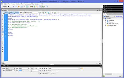 cara membuat web sederhana notepad aplikasi cara membuat web design untuk pemula
