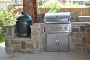 lewisville outdoor kitchens impact landscapes - Outdoor Kitchen Big Green Egg