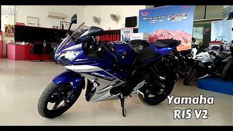 Headl Yamaha R15 yamaha r15 v2 0 gp blue