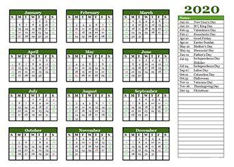 printable  yearly calendar template calendarlabs