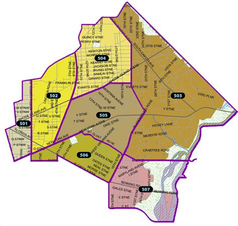 washington dc precinct map welcome to the fifth district mpdc