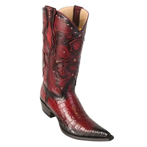 mens cowboy boots pointed toe los altos s pointed toe caiman belly cowboy boots