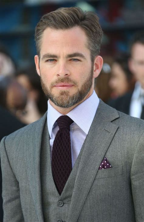 capt kirk hair captain kirk aka chris pine suited up for the occasion