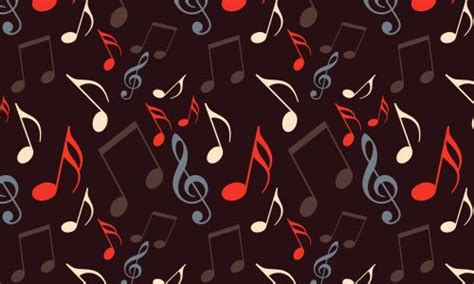music notes pattern free pinterest
