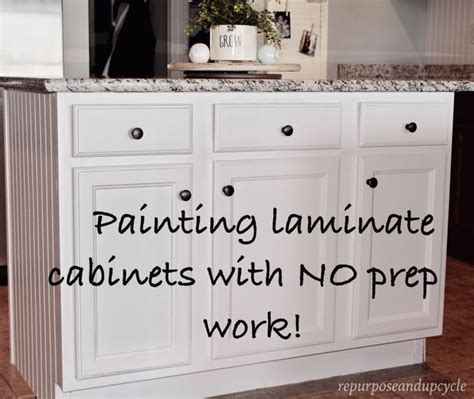 Painting Laminate Bathroom Cabinets by 25 Best Ideas About Paint Laminate Cabinets On