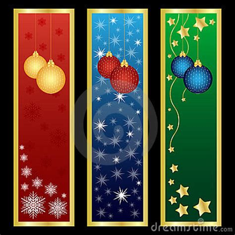 vertical christmas banners royalty  stock photography image