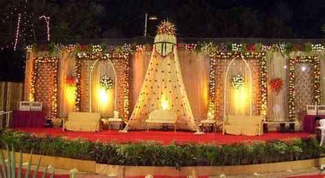 A wedding planner indian wedding stage decorations and indian wedding mandap decorations