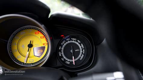 ferrari speedometer ferrari california review autoevolution