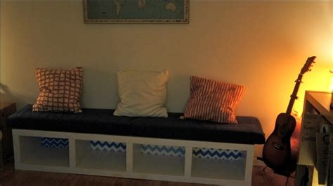 turn bookshelf into bench turn an ikea bookshelf into an attractive bench