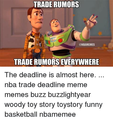 Everywhere Meme Toy Story - 25 best memes about nba trade nba trade memes