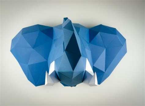 Papercraft Trophy - bring the indoors with papertrophy s cruelty free